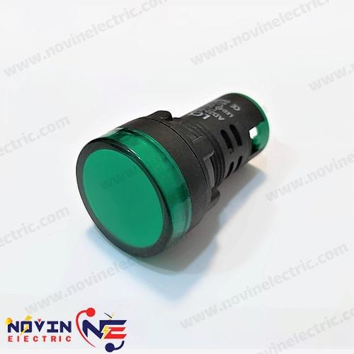 چراغ سیگنال 220 ولت رنگ سبز