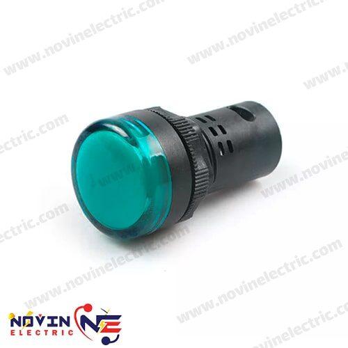 چراغ سیگنال قطر ۲۲ آبی - AD16-LED
