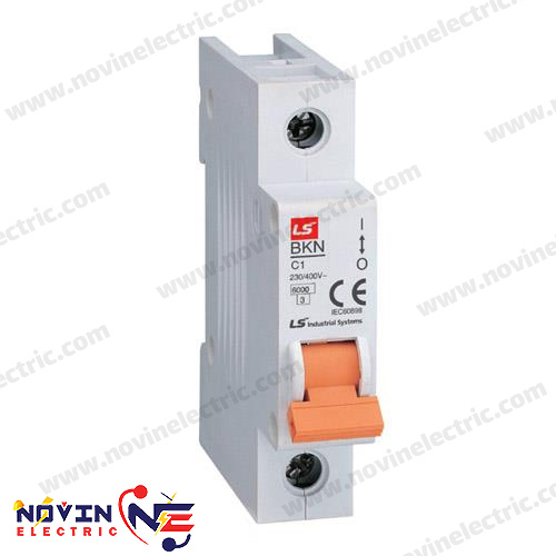 کلید LS مینیاتوری 1 پل 10 آمپر سری BKN10