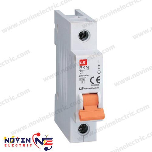 کلید LS مینیاتوری 1 پل 1 آمپر سری BKN1