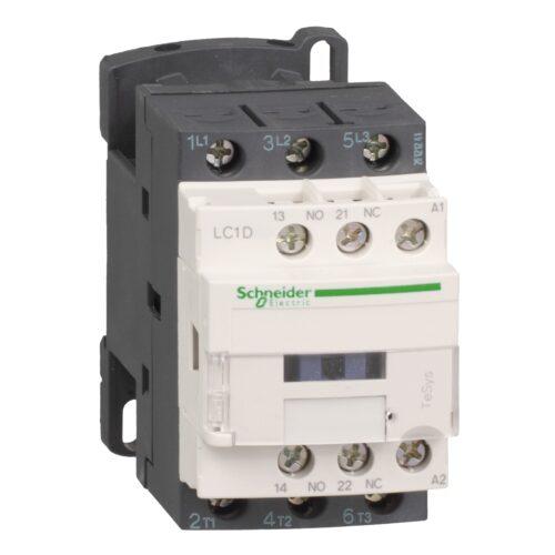 کنتاکتور 12 آمپر اشنایدر بوبین 220V/AC LC1D12M7
