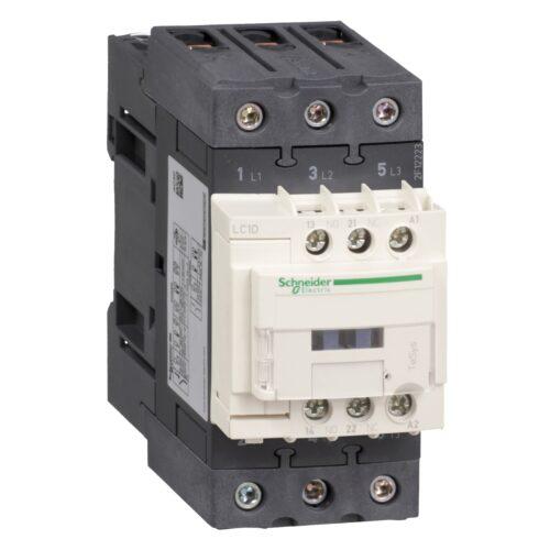 کنتاکتور 50 آمپر اشنایدر بوبین 380V/AC LC1D50AQ7