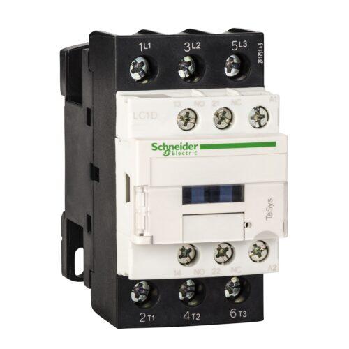 کنتاکتور 32 آمپر اشنایدر بوبین 380V/AC LC1D32Q7