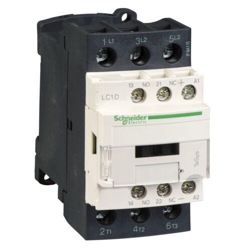 کنتاکتور 32 آمپر اشنایدر بوبین 24V/AC LC1D32